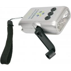 , 5 LED crank flashlight, Busrel
