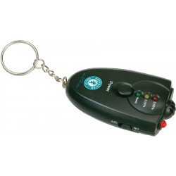 , Alcohol detector on keychain with bright LED light, Busrel