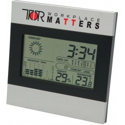 , Two tone clock and weather station, Busrel