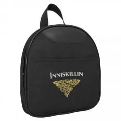 Nylon cooler bag, oak wood board & stainless steel tools