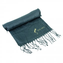 , Scarf with fringes with a foldable gift box, Busrel