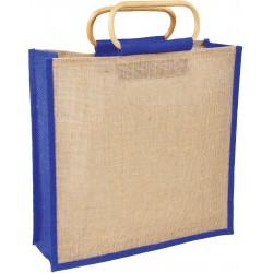 , Jute bag with bamboo handle, Busrel
