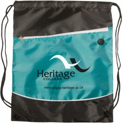 Drawstring backpack / duffle bag