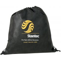 Drawstring tote bag/backpack non-woven