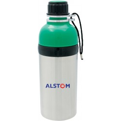 , Stainless steel and plastic bottle, Busrel