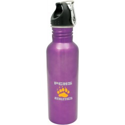 Colored stainless steel water bottle