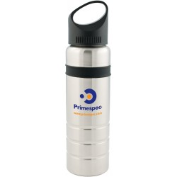 Two tone stainless steel water bottle
