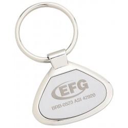 , Triangular metal key tag, Busrel