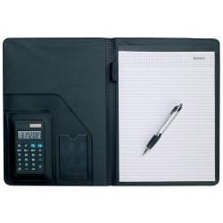 Padfolio with solar power calculator