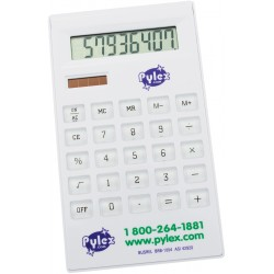 , Slim solar desk 8 digit calculator, Busrel