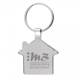 , House shape key holder made of zinc alloy & stainless steel, Busrel