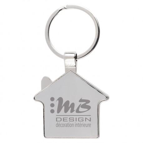 , House shape key holder made of zinc alloy & stainless steel, Busrel