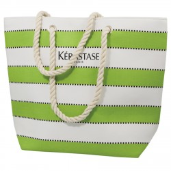 , Multi stripe beach bag, Busrel