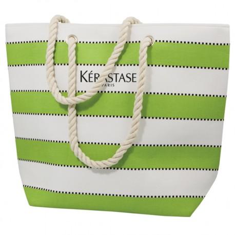 , Multi stripe beach bag, Busrel