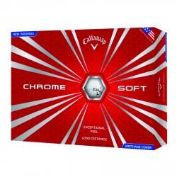 , Golf balls Callaway HEX CHROME SOFT - Box of 12 balls, Busrel