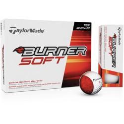 , Golf balls TaylorMade Burner Soft - Box of 12 balls, Busrel