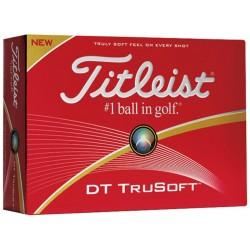 Golf balls Titleist DT TruSoft - Box of 12 balls, Logoed golf balls, busrel